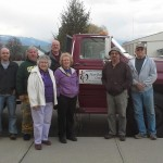 Thank you Don and Roberta Fink for your generous donation of your truck for our Firewood Ministries! God Bless you!
